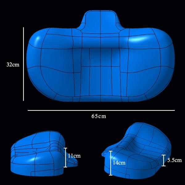 枕 BlueBlood4Dピロートリニティー TRINITY ストレートネック対応まくらブルーブラッド いびきマクラ 肩こり プレゼント ※北海道540円沖縄3,000円の追加送料|coolzon|12