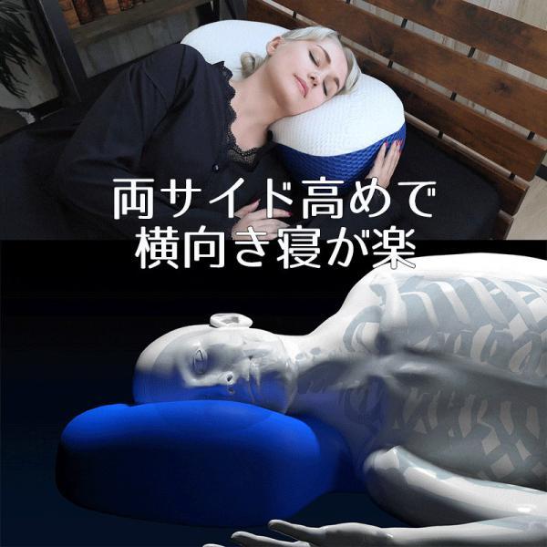 枕 BlueBlood4Dピロートリニティー TRINITY ストレートネック対応まくらブルーブラッド いびきマクラ 肩こり プレゼントに メーカー公式|coolzon|10