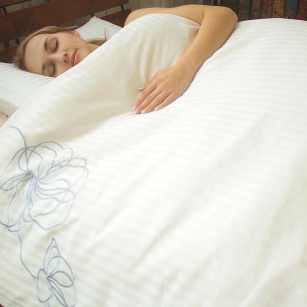枕カバー ラビアナホテルデザイン サテンストライプ Arosa アローサ 43×63cm まくらカバー ピローケース かぶせ式 coolzon 03