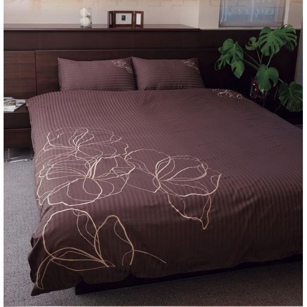 枕カバー ラビアナホテルデザイン サテンストライプ Arosa アローサ 43×63cm まくらカバー ピローケース かぶせ式 coolzon 04