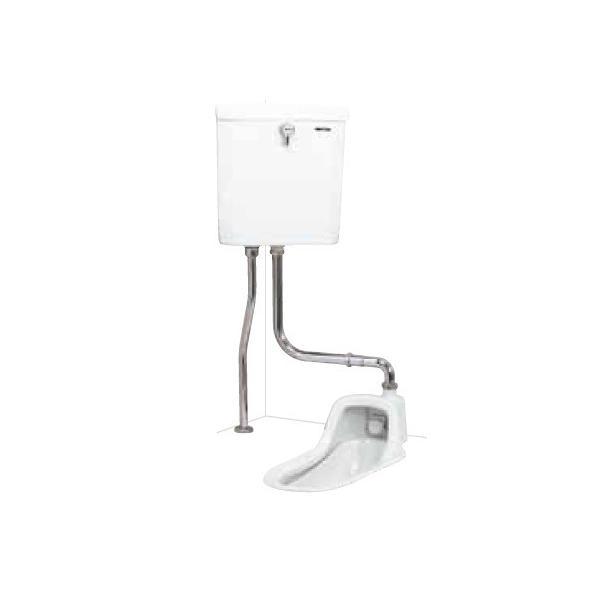 簡易水洗便器 ネポン ATJ-209 プリティーナ 和式 給水タンク パンタロン方式 ホワイト [♪■ 関東限定]