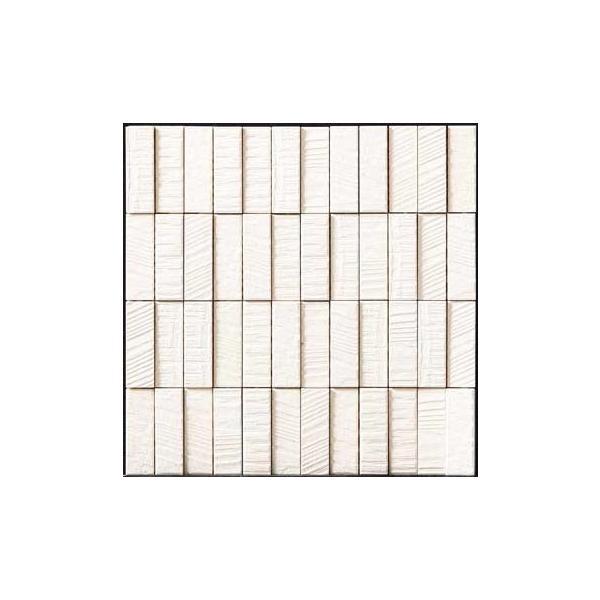 RoomClip商品情報 - LIXIL 【ECP-275N1/RGS1(ホワイト) 4シート/ケース】 25×75角(納まり役物)ネット張り ラフソーン エコカラットプラス Sシリーズ [♪]