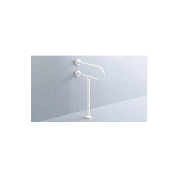 INAX/LIXIL KF-525AE70J トイレ関連 大便器用手すり 壁床固定式 樹脂被覆タイプ D700 [□]