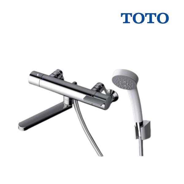 在庫あり TOTO浴室用水栓金具TBV03401JGGシリーズ壁付サーモスタット混合水栓(コンフォートウェーブシャワー)スパウ