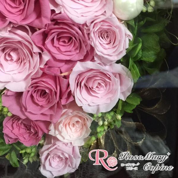 プリザーブドフラワー ギフト フォトフレーム 写真立て 結婚祝い 還暦祝い 誕生日 記念日 お祝い 贈り物 プレゼント|copine|04