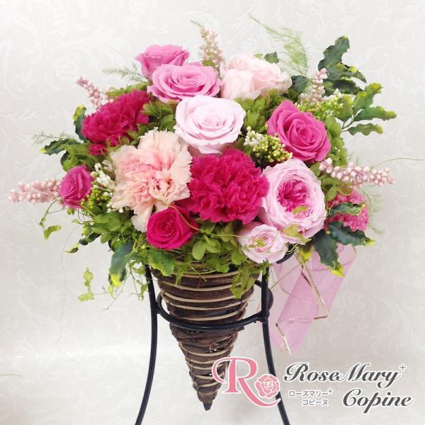 プリザーブドフラワー ギフト 結婚祝い 還暦祝い 誕生日 記念日 お祝い 贈り物 プレゼント 和アレンジ 和風 wa-014|copine