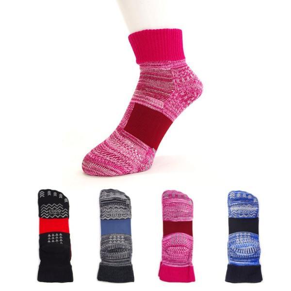 レディース先丸タイプランニングソックス婦人日本製靴下23-25cm婦人ゆうパケット50%