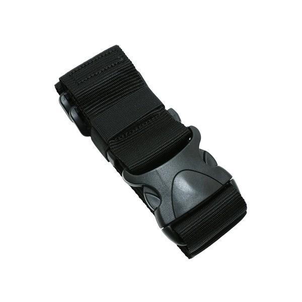 大人気ワンタッチスーツケースベルト ブラック MBZ-SBL01/BK