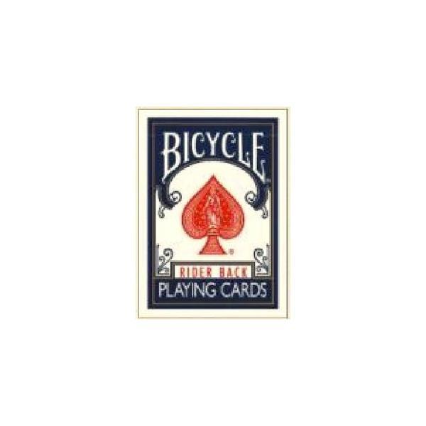 大人気〔トランプ〕BICYCLE(バイスクル) ライダーバック ポーカーサイズ 〔ブルー〕〔2個セット〕