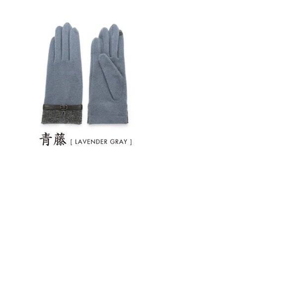 12bfd655a499e1 手袋 レディース おしゃれ 暖かい スマホ 羊革ベルト 本革 千鳥格子柄 ...