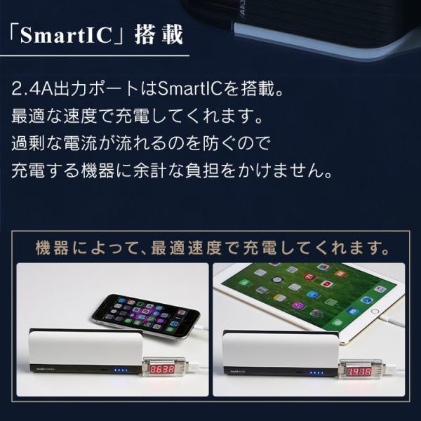 モバイルバッテリー iPhone 大容量 10400mAh 薄型 スマホ 充電器 アンドロイド PSEマーク付 かわいい 携帯 持ち運び 急速 防災グッズ アウトレット INOVA|coroya|11