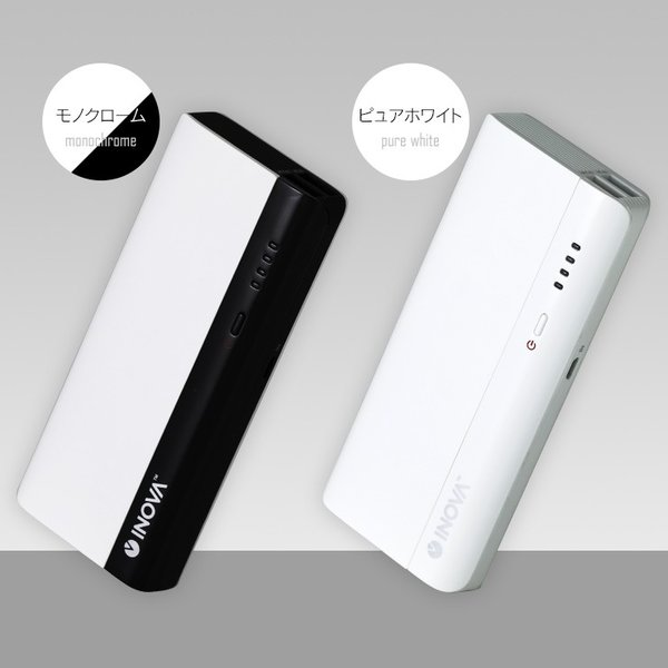 モバイルバッテリー 大容量 軽量 iPhone 充電器 持ち運び スマホ 携帯 USB 急速充電 アンドロイド 2台同時 10400mAh iPhone7/8 Plus/X 赤 RED アウトレット|coroya|16