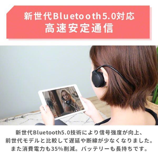 ヘッドホン ヘッドフォン Bluetooth4.0 ブルートゥース ワイヤレス マイク付きハンズフリー通話 iPhone7 iPhone6s アイフォン スマホ スマートフォン 折りたたみ|coroya|05