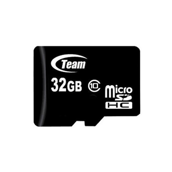 マイクロSDカード 32GB class10 SD変換アダプタ付 TEAM|coroya