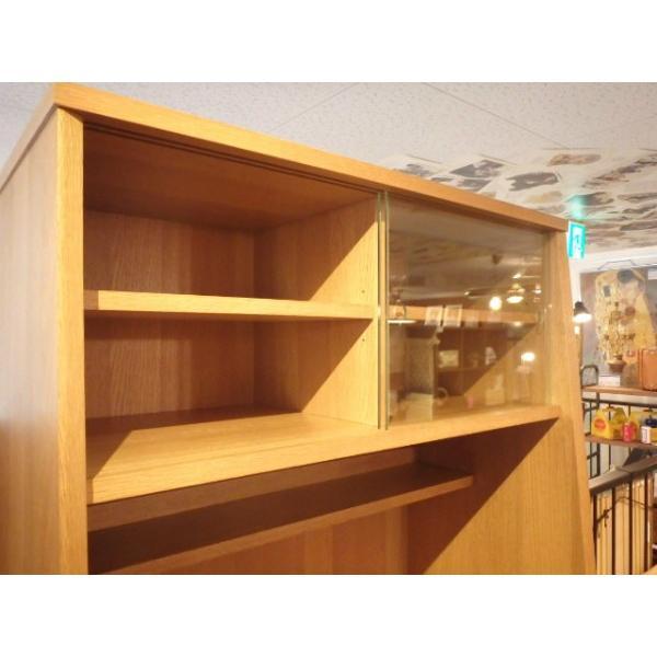 unico(ウニコ) / SIGNE シグネ キッチンボード カップボード 食器棚 オーク材 W80|correr|06
