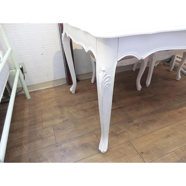 アンティーク調クラシック家具シリーズ Framcesca(フランチェスカ) ダイニング5点セット W1500テーブル|correr|06
