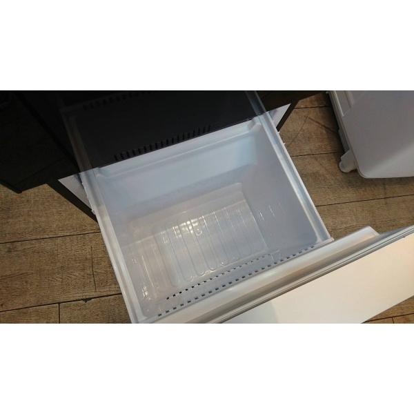 SHARP(シャープ)/ノンフロン冷凍冷蔵庫 SJ-GD14C-B 2ドア 2017年式  一人暮らしサイズ 黒 correr 07