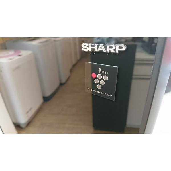 SHARP(シャープ)/ノンフロン冷凍冷蔵庫 SJ-GD14C-B 2ドア 2017年式  一人暮らしサイズ 黒 correr 10