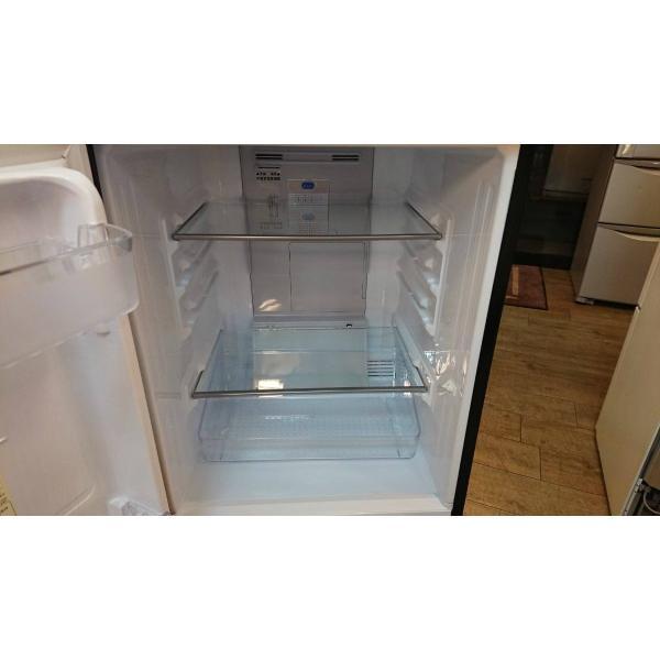SHARP(シャープ)/ノンフロン冷凍冷蔵庫 SJ-GD14D-B 2ドア 2018年式  一人暮らしサイズ 黒 correr 05