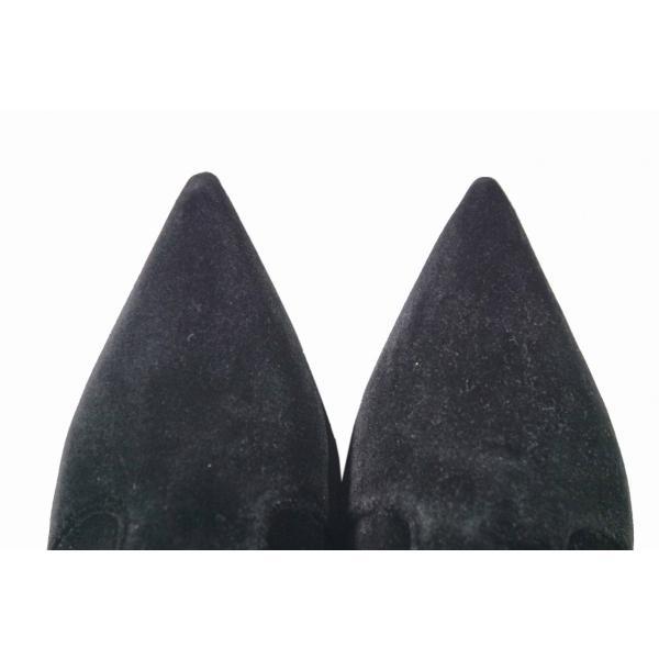 E120 FENDI フェンディ ベルベット ソックス ブーツ イタリア製 8T6668-A0UN F07LV 女 レディース 新品 ブラック ★ 36