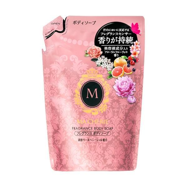 マシェリ フレグランスボディソープ つめかえ用 詰替 350ml うるおい艶肌に フローラルフルーティーの香り