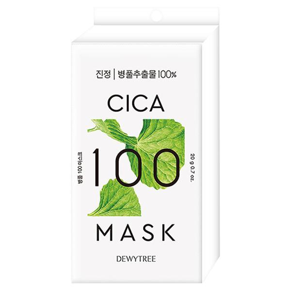 DEWYTREE CICAフェイスマスク 20g×3枚の画像