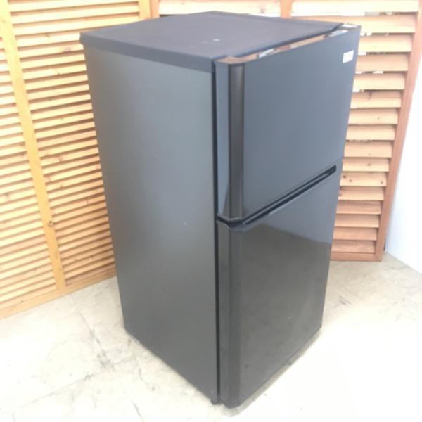 【中古】106L 2ドア冷蔵庫 ハイアール ブラック JR-N106H 2015年製 ワンルームなどにも最適|cosmo-space|02