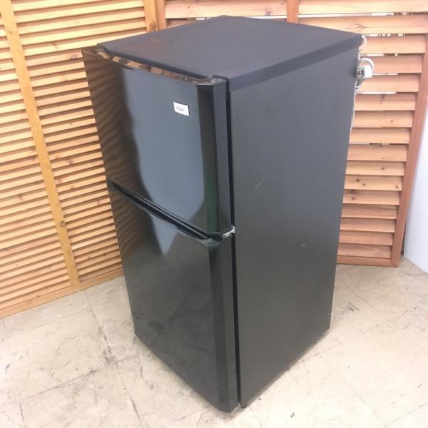 【中古】106L 2ドア冷蔵庫 ハイアール ブラック JR-N106H 2015年製 ワンルームなどにも最適|cosmo-space|03