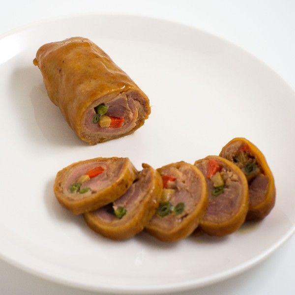 コスモフーズの合鴨三色巻き 約200gパック