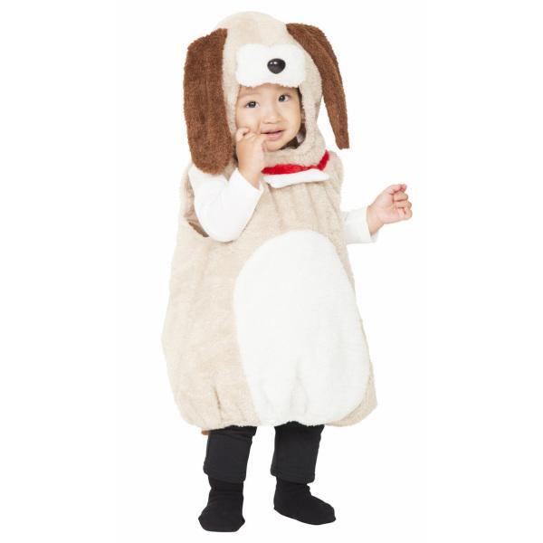 マシュマロワンワン ベビー 犬 赤ちゃん 子供用 ハロウィン 節分 仮装 コスプレ かわいい baby