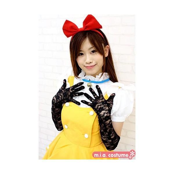 1201I▲【送料無料・即納】 レースロング手袋 色:黒 サイズ:F コスチューム コスプレ ハロウィン cosplaymode 03