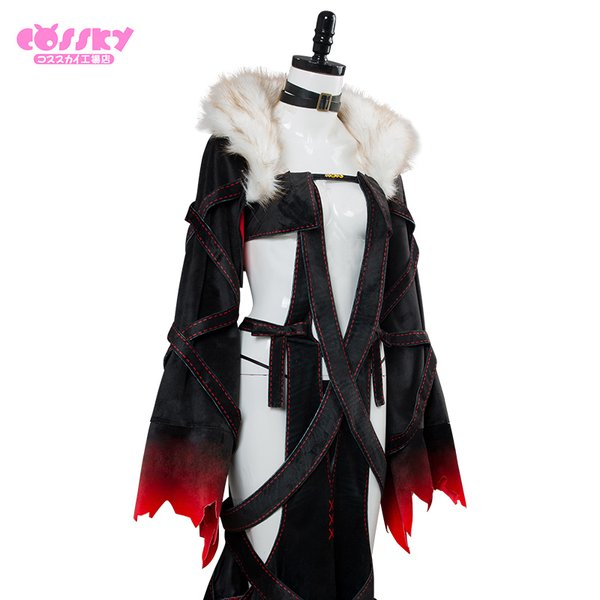 Fate/Grand Order コスプレ 人智統合真国SIN 虞美人 コスプレ 衣装 FGO コスプレ インナー追加可能|cossky|06
