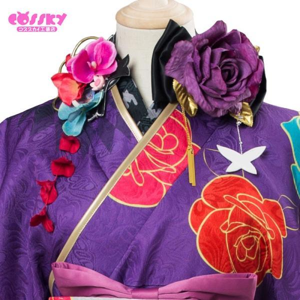 Fate/Grand Order コスプレ 概念礼装 笑顔のしるし マシュ・キリエライト コスプレ 衣装 着物 FGO コスプレ cossky 05