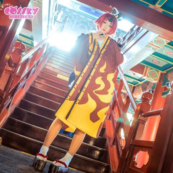Fate/Grand Order コスプレ 舌切り雀の紅閻魔 コスプレ 衣装 霊基再臨第1段階 FGO コスプレ|cossky|03