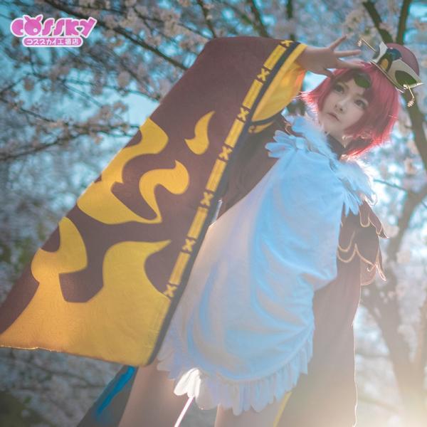 Fate/Grand Order コスプレ 舌切り雀の紅閻魔 コスプレ 衣装 霊基再臨第1段階 FGO コスプレ|cossky|06