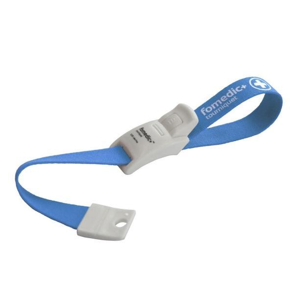 フォーメディックプラス ラテックスフリーワンタッチ駆血帯 ライトブルー CL-200 40102-01|costsaver