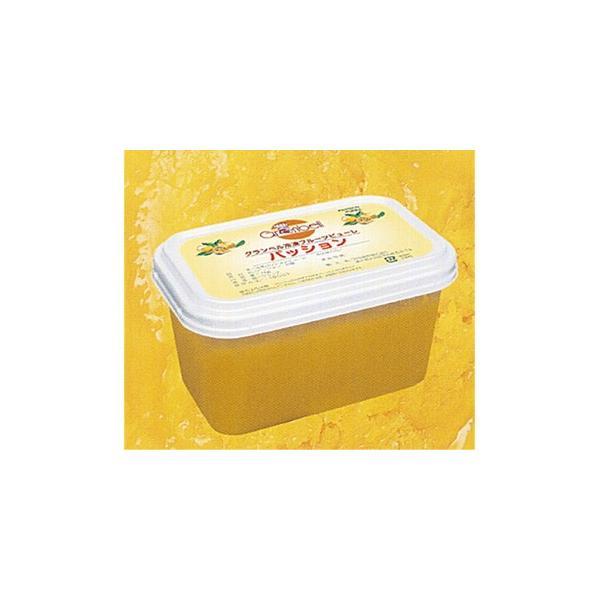 <冷凍>グランベル パッションフルーツピューレ 1kg