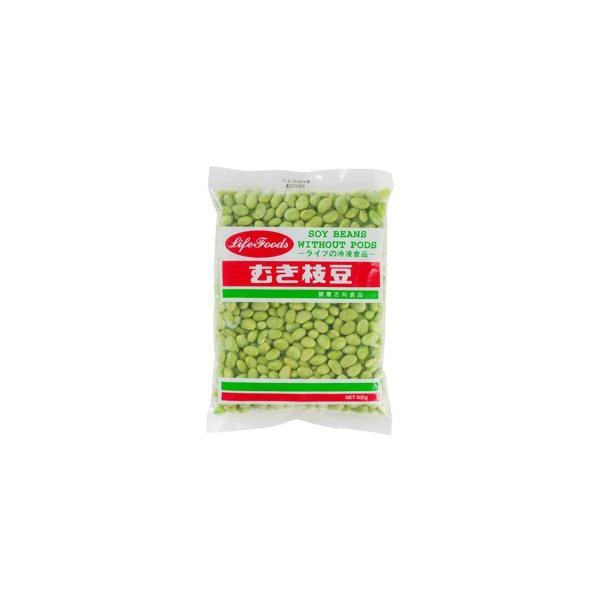 <冷凍>ライフフーズ むき枝豆  500g