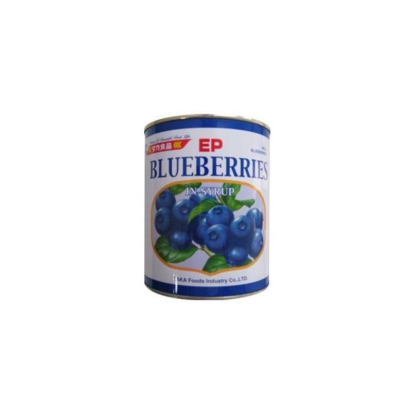 タカ食品 ブルーベリーインシロップ 2号缶