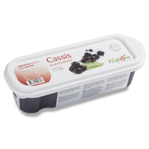 ◆<冷凍>ラ・フルティエール 無加糖カシスピューレ 1kg