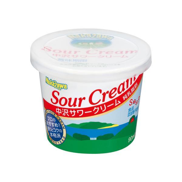 <冷蔵>中沢乳業 中沢サワークリーム 90ml