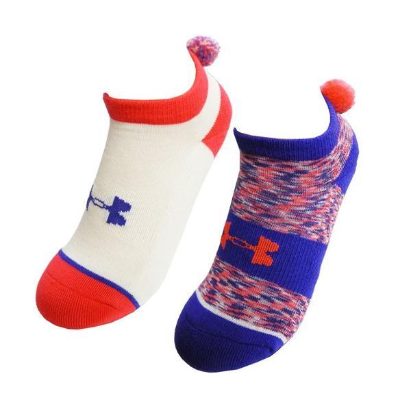 UNDER ARMOUR アンダーアーマー 子供用靴下 キッズ ジュニア スニーカーソックス スポーツソックス 2足セット 約21〜23cm