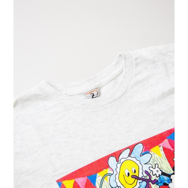 "FilMelange フィルメランジェ【Mickey 90th Anniversary T-Shirt ""GIFT""】 coupy2 06"