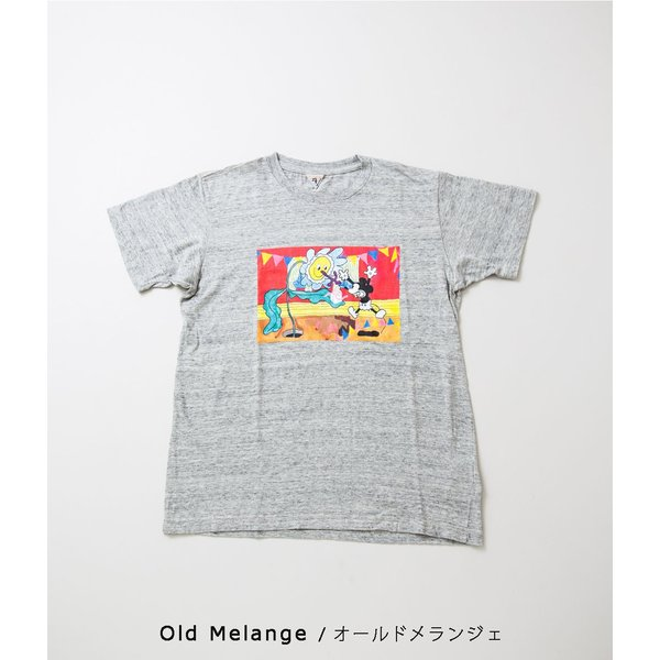 "FilMelange フィルメランジェ【Mickey 90th Anniversary T-Shirt ""GIFT""】 coupy2 09"
