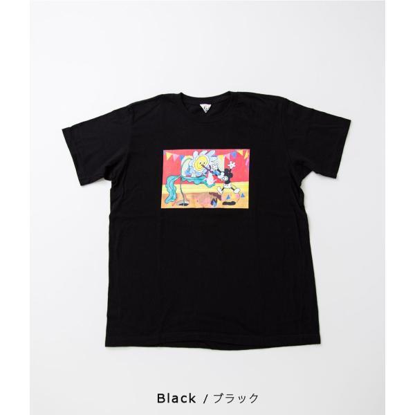 "FilMelange フィルメランジェ【Mickey 90th Anniversary T-Shirt ""GIFT""】 coupy2 10"