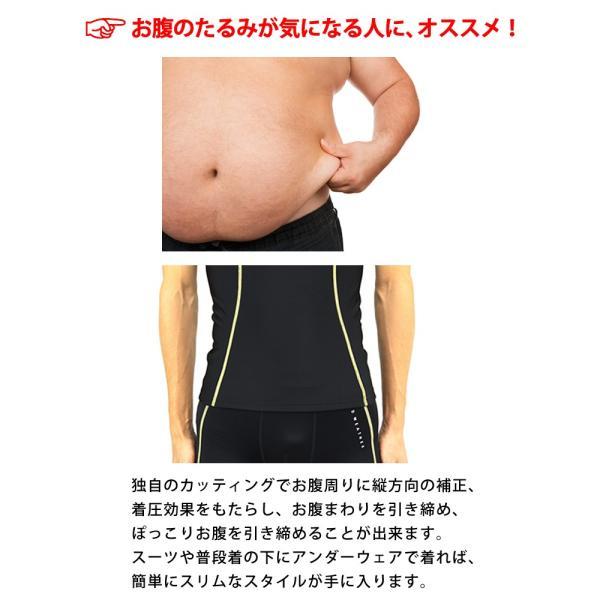 コンプレッションインナー メンズ ウェア シャツ タイツ 半袖 上下 セット UVカット ラドウェザー LAD WEATHER|courage|04