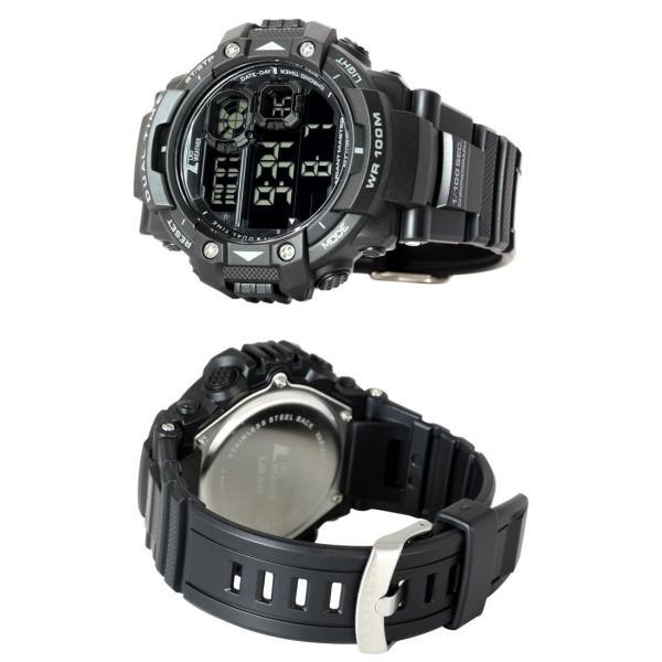 cd5ffc8392 ... デジタル腕時計 メンズ ミリタリーウォッチ 100m防水|courage| ...