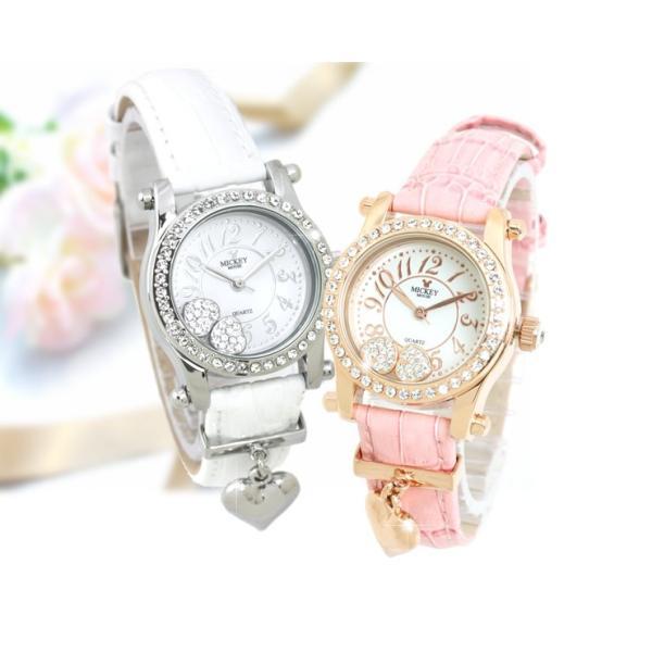 腕時計 レディース ミッキー ディズニー スワロフスキー 送料無料 disney_y|courage|08