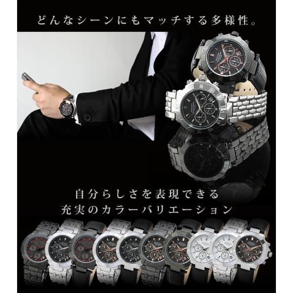 腕時計 メンズ クロノグラフ おしゃれ 人気 ブランド|courage|07