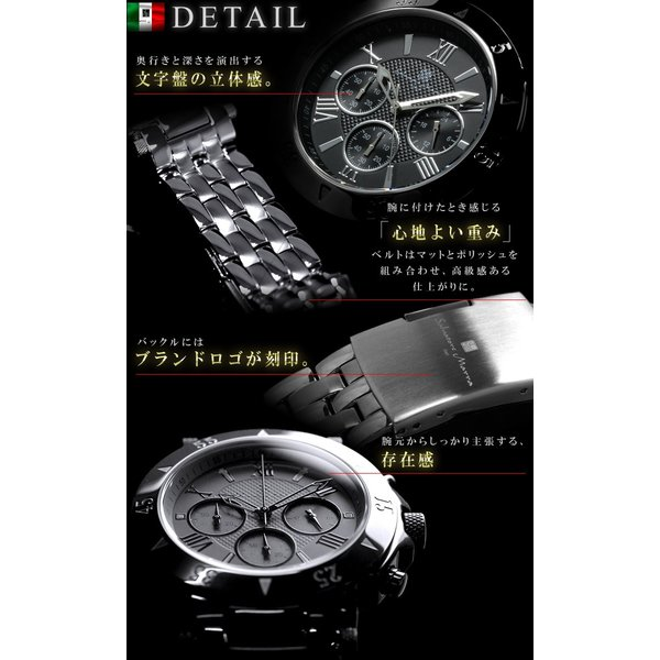 腕時計 メンズ クロノグラフ おしゃれ 人気 ブランド|courage|08